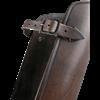 Octavius Leather Greaves