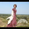Archeress Linen Dress