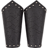 Ancient Warrior Leather Bracers
