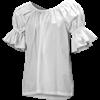 Ruffled Sleeve Chemise Top