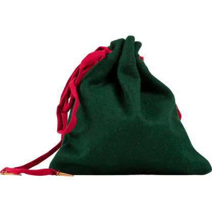 Wool Drawstring Pouch