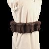 Multi Pouch Leather Belt