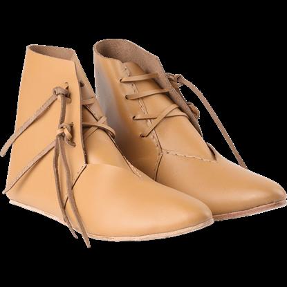 Brown Medieval Peasant Boots