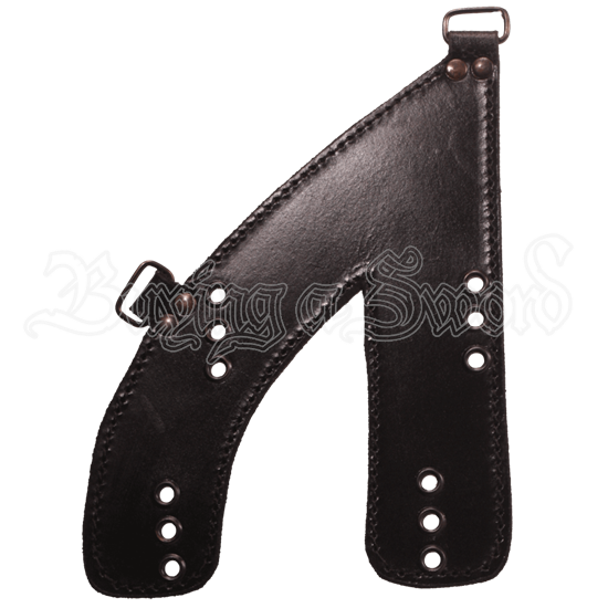 Leather Baldric Plate Piece