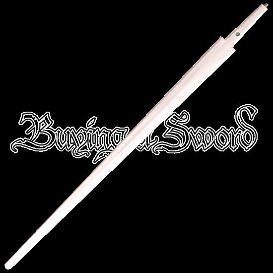 White Single Hand And Basket Hilt Sword Blade
