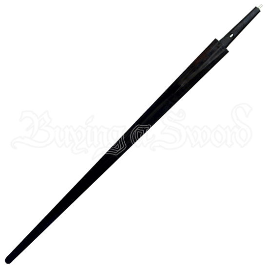 Black Single Hand And Basket Hilt Sword Blade