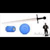 Blue Single Hand Sword Pommel