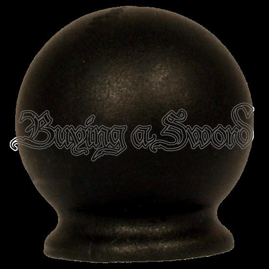 Black Basket Hilt Sword Pommel