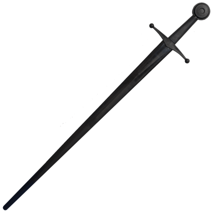 Xtreme Synthetic Sparring Single Hand Sword Black Blade