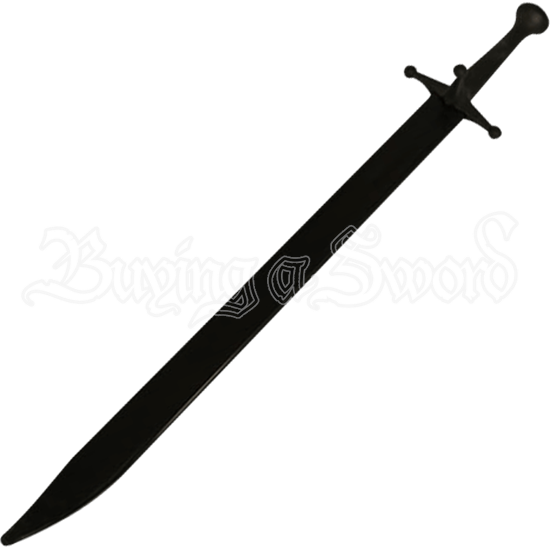 Black Blade Sparring Messer
