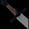 Silver Blade Sparring Messer
