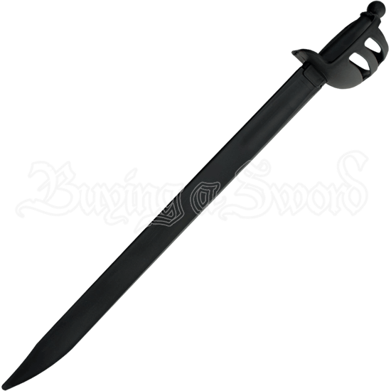 Black Sparring Cutlass