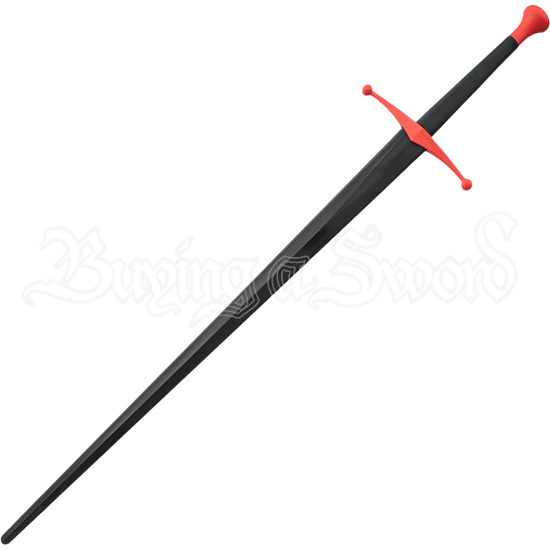 Black and Red Sparring Longsword