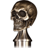 Skull Cane with Spike