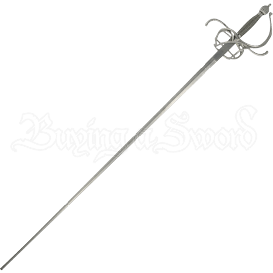 Practical Swept Hilt Long Rapier