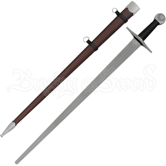 Single Handed Knight Broadsword