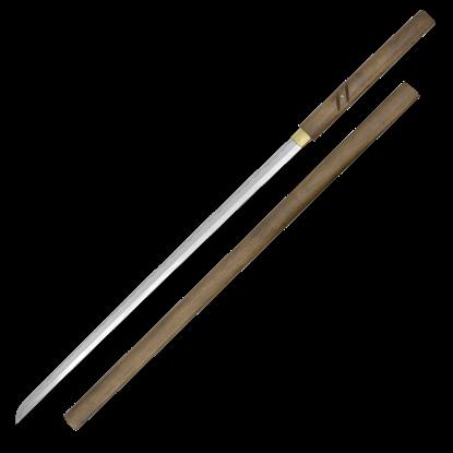 Wood Handled Zatoichi Stick Sword