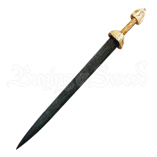 Damascus Late Roman Sword