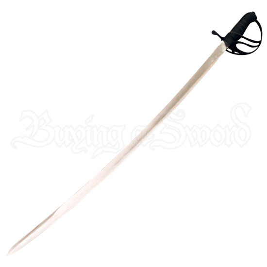 Blackened Cavalry Sword