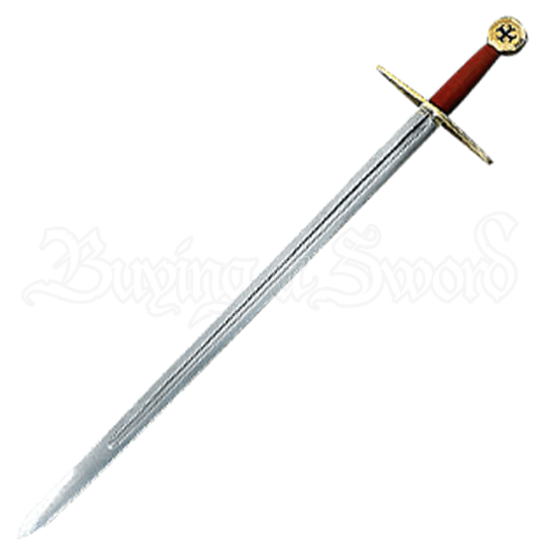 Crusader Cross Sword with Scabbard
