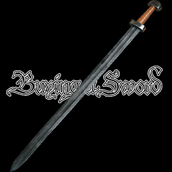 Damascus Viking Sword