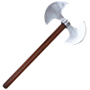 Short Hafted Double Bit Axe
