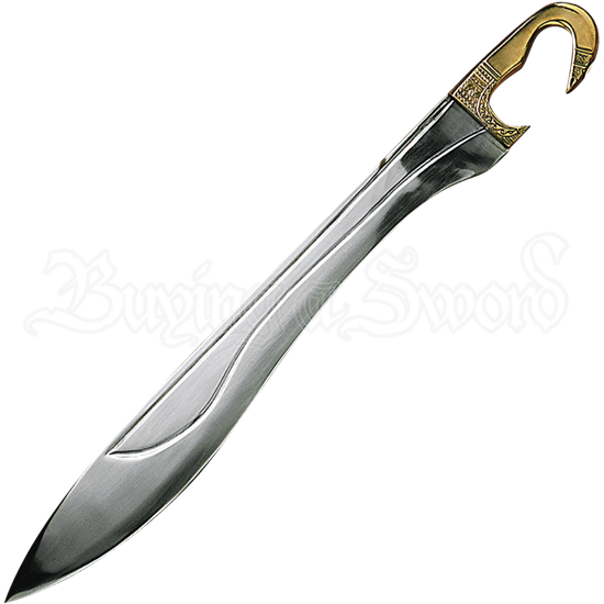 Kopis Sword with Brass Handle