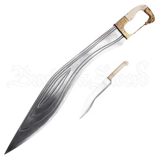 Kopis Sword with Horse Head Handle