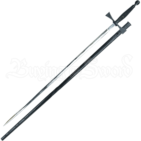 Black Masonic Sword