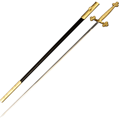 Brass Cross Ceremony Sword