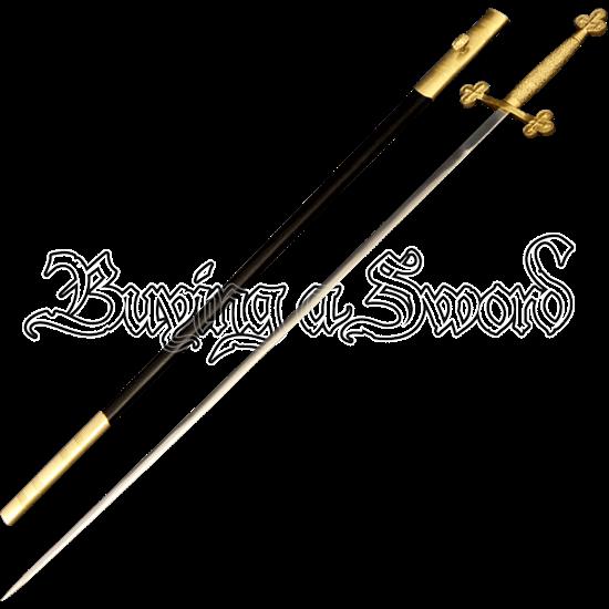 Brass Cross Ceremony Sword