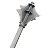 Flanged Medieval Mace