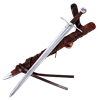 Norman Sword With Scabbard and Belt