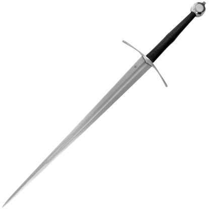 Knights Bastard Sword with Scabbard and Belt