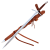 The Sage Sword With Scabbard