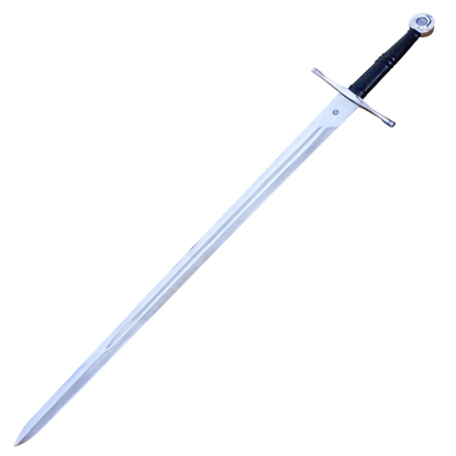 Two Handed Norman Sword With Scabbard