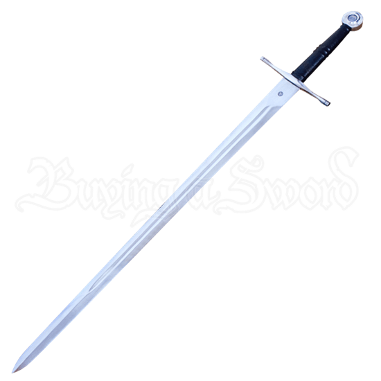 Two Handed Norman Sword With Scabbard and Belt