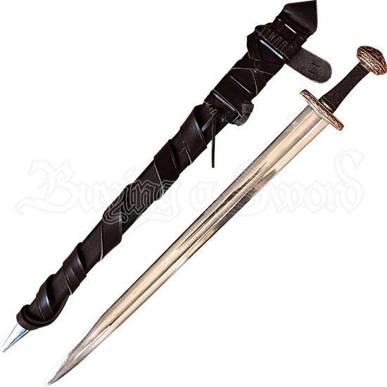 The Einar Viking Sword with Sword Belt