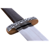 Two Handed Viking Sword With Scabbard