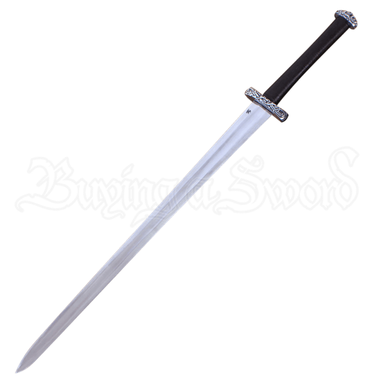 Two Handed Viking Sword With Scabbard and Belt