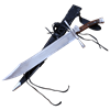 The Messer Sword With Scabbard and Belt