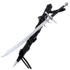Ring Hilt Swiss Saber With Scabbard and Belt