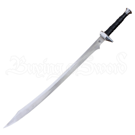 Fantasy Scimitar With Scabbard and Belt