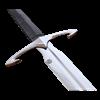 Black Death Sword With Scabbard