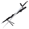 Black Death Sword With Scabbard and Belt