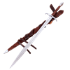 Flames of the Angel Fantasy Sword With Scabbard