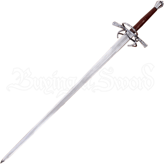 16th Century Two-Handed Sword with Scabbard and Belt