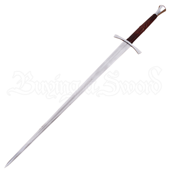 15th Century Hand and a Half Sword With Scabbard