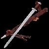 Five Lobe Viking Sword With Scabbard