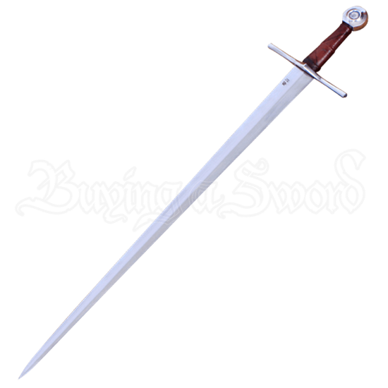The Sword Of Poitiers With Scabbard